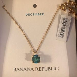 NWT Birthstone Round Pendant Necklace